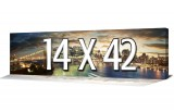 Custom Canvas Prints - Panoramic Canvas - 42 x 14