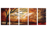 Designer  Multipanel Oil Painting 560