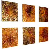 Designer  Multipanel Oil Painting 110