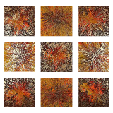 Designer  Multipanel Oil Painting 103