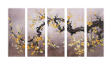 Designer  Multipanel Oil Painting 9